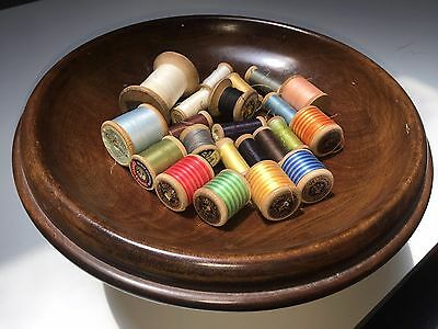 Collectable Wooden Cotton Reels