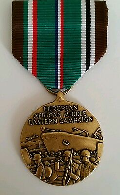 Us European African Middle East Campaign Medal 1941-45