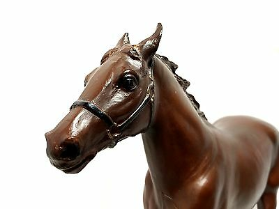 """Traditional Breyer #6 Running Standard Bred Pacer 13"""" Horse Figure Loose EUC"""