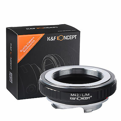 K&F Concept Lens mount adapter for M42 mount lens to Leica M camera M-P M240 M10
