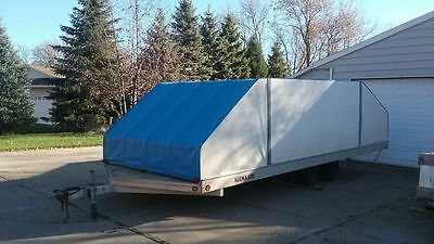 PRICE REDUCED!! Snowmobile Trailer 4-Place Enclosed