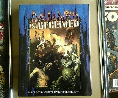 World of darkness demon the fallen rpg dammed and deceived