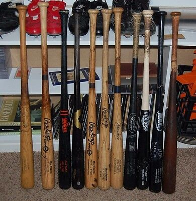 Game Used Bats For Sale - $45 EACH OBO Zunino, Cantu HR, Hollandsworth + MORE