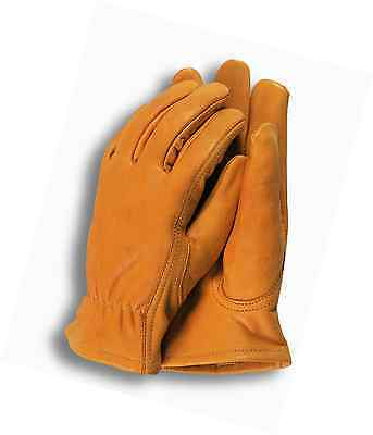 Town & Country Medium Premium Leather Gardening Gloves for Men