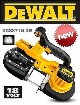 Dewalt Dcs371N 18V Xr Cordless Compact Bandsaw Pipe Rod Cutting Saw Max 20V Tool