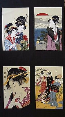 Quilt Fabric Kona Bay Japanese Geisha Panel 100% Cotton Fabric Sewing Craft