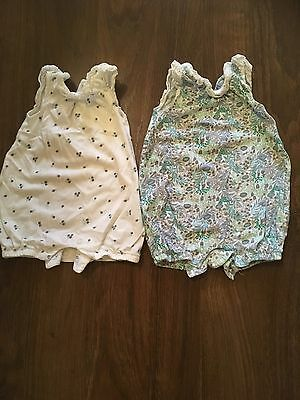 2 Next Baby Girl Rompers/Playsuits 1M
