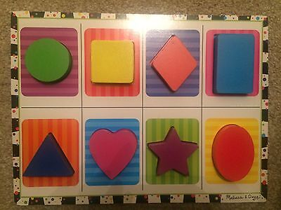 Melissa And Doug Wooden Shapes Puzzle