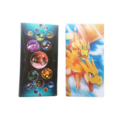 Pokemon Cards Album Book List Card Collectors 84Pcs Capacity Cards Holder Gift