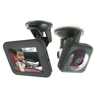 2.4G Wireless Camera 3.5-inch Video Audio Car Baby Monitor IR Night Vision - USA