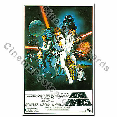 3 for 2! STAR WARS POST CARD (*1/s Style C Poster-Art) Harrison Ford A New Hope