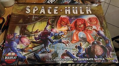 SPACE HULK 1st edition - not complete   unpainted  [ENG, 1989]