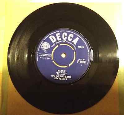 "ROLAND SHAW Marnie (1964 UK vinyl 7"" single F11941) EX condition (V2312)"