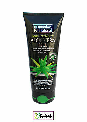 A Passion For Natural Aloe Vera Gel 100% Organic (200ml)