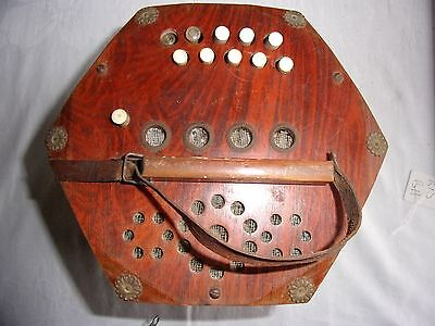 Vintage Viceroy  Concertina Made in Saxony