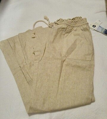 New with tags, Roxy women's drawstring pants, size Large