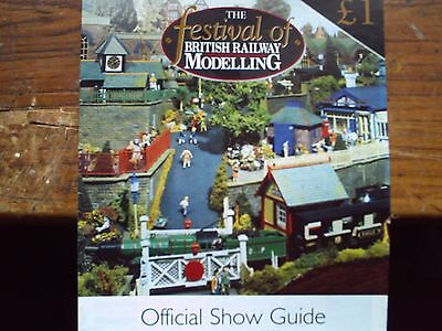 Festival Of British Railway Modelling Show Guide February 2002.