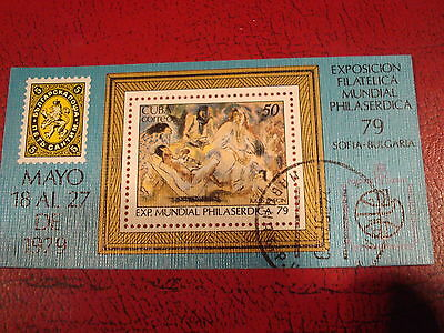 Central America - 1979 Stamp Exhibit - Minisheet - Unmounted Used - Ex Condition
