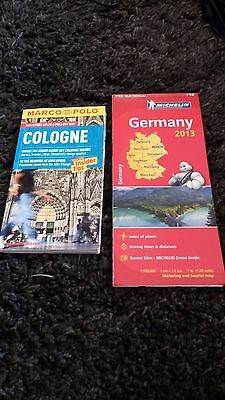 2 Maps Germany and Cologne