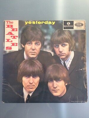The Beatles - Yesterday Ep , Portugal Press Very Rare