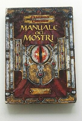 ★ Accettabile Ita ★ Manuale Dei Mostri 3 Iii ★ 3.5 D&d Dungeons And & Dragons