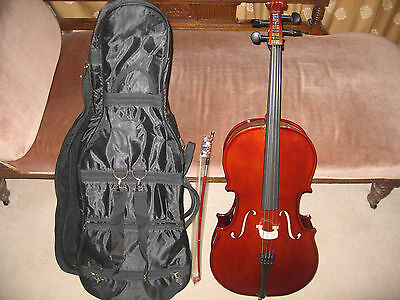 Good Quality 1/4 SIZE CELLO OUTFIT