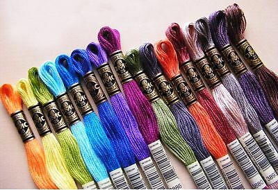 893-996 DMC Threads Skeins Cross Stitch Floss PYO Pick Your Own Colours 8M