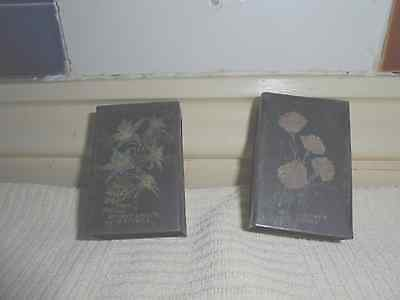 1 PAIR OF1930s BRYANT  & MAY MATCHBOX HOLDERS