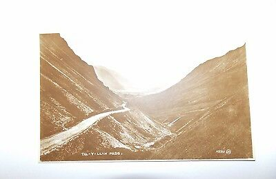 Tal-y-llyn Pass photo postcard from the Valentine's XL series