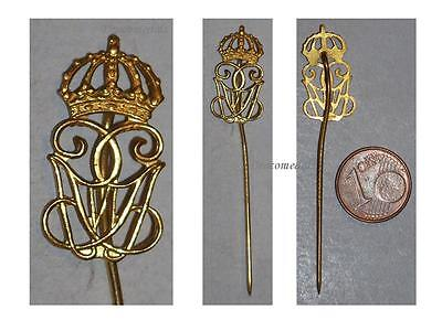 Sweden WWII ROYAL GUARDS PIN KING GUSTAF VI 1950 Decoration Patriotic INSIGNIA