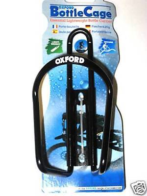 Oxford Bicycle Cycle Alloy Water Bottle Cage - Black