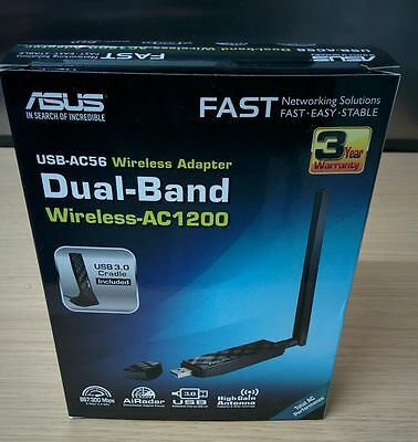 * ASUS USB-AC56. USB 3.0 Network Dongle - Comes boxed - Works great ! *