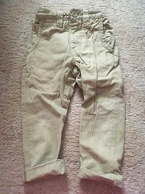 Boys Beige Chinos From Next Aged 3
