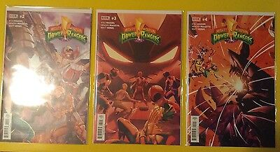 comics VO anglais - Mighty Morphin Power Rangers - Issue 2 , 3 et 4