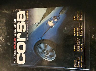 Vauxhall Corsa - Haynes The definitive guide to Modifying - Max Power