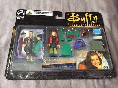 Buffy The Vampire Slayer Willow Palz Figure With Accessories And Card Palisades