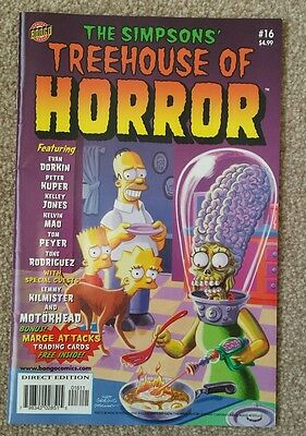 The Simpsons Treehouse of Horror Comic #16 (2010)