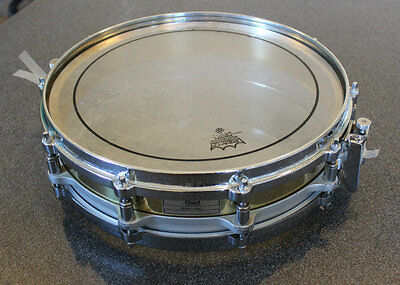 Pearl Piccolo free floating brass snare drum