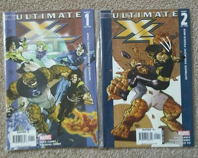 Ultimate X4 Issues 1 & 2 (2005) FIRST PRINT