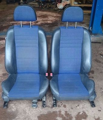 Mg Zs Rover 45 Pair Of Blue & Black Mk2 Front Seats Only
