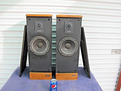 Vintage Pair Of Advent Prodigy Tower Speakers