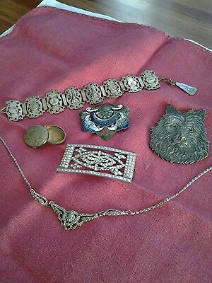 Mixed Lot of Vintage Jewellery for Repair