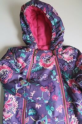 Gorgeous JOULES Baby Snowsuit. Age 9-12 months.Integrated Mittens.Exc Cond. Ski.
