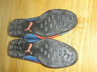 Men's Blue and Orange Puma Astro Turf Football Boots Size 9