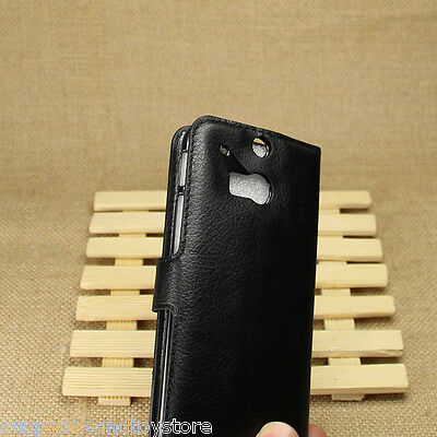 Flip Leather case with Barcode for HTC M8 - Bulk Deal