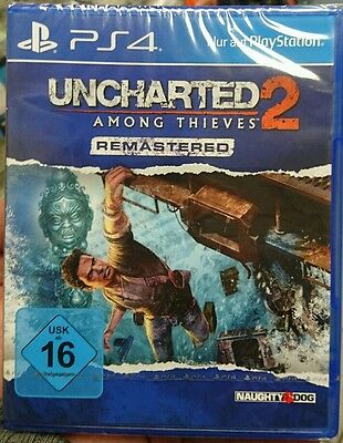 Uncharted 2 Among Thieves Remastered PS4 (Sony PlayStation 4) NEU OVP