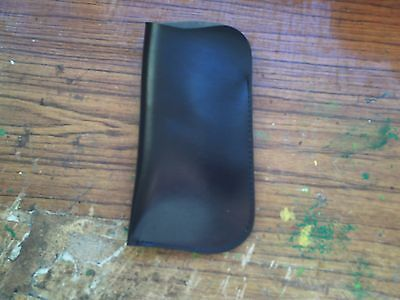 Faux? Leather Glasses Case.