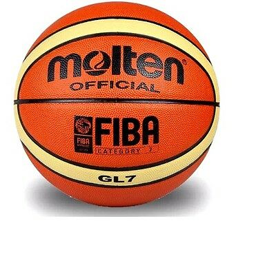 Molten FIBA basketball ball - GL7, free shipping + fast delivery (size 7)