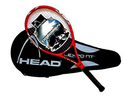 Amazing RED Head Tennis Racket YD66 size 4 1/4, Black Friday Price