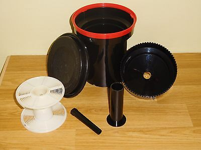 Paterson Super System 4 Universal Film Developing Tank With Adjustable Spiral.